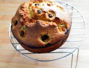 Миндальный кекс с виноградом - фото шаг 6