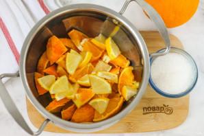Компот из апельсина и лимона - фото шаг 3