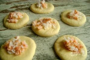 Пирожки с рисом из дрожжевого теста - фото шаг 8