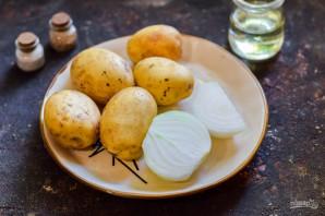 Картошка в банке в духовке - фото шаг 1