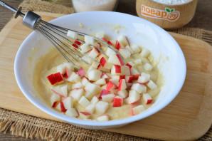 Печенье на кефире с яблоками - фото шаг 6