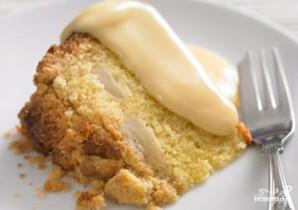 Пирог с консервированными грушами - фото шаг 6