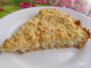 Пирог-ватрушка с творогом - фото шаг 7