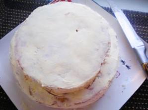 Торт двухъярусный - фото шаг 9