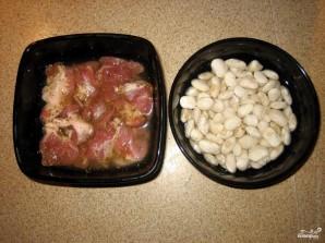 Фасоль с мясом - фото шаг 1