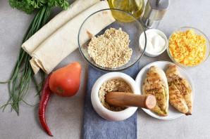 Закуска из лаваша с курицей - фото шаг 2