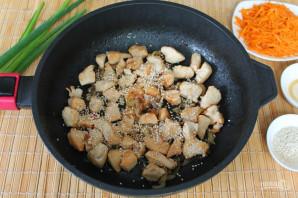 Куриная грудка с корейской морковью - фото шаг 4