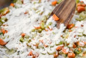 Пирог с индейкой и овощами - фото шаг 3
