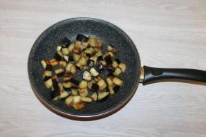 Салат с баклажанами и фасолью - фото шаг 5
