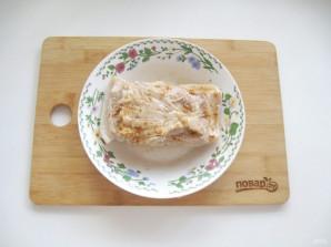 Вареная грудинка из свинины в домашних условиях - фото шаг 5