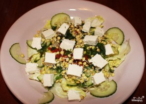 Салат из пророщенной чечевицы - фото шаг 8