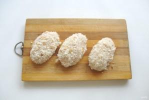 Куриные котлеты с горчицей - фото шаг 3