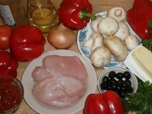 Перец, фаршированный грибами и мясом - фото шаг 1