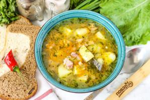 Суп из копченой семги - фото шаг 7