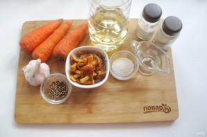 Морковь по-корейски с опятами - фото шаг 1