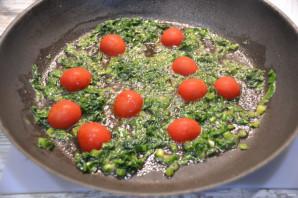 Фетучини со шпинатом - фото шаг 2