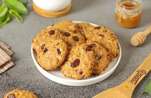 Овсяное печенье без сахара - фото шаг 9