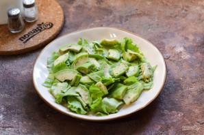 Салат с авокадо и перепелиными яйцами - фото шаг 4