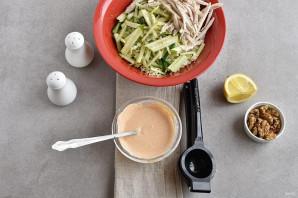 Салат с китайской капустой - фото шаг 3