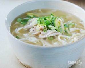 Суп с домашней лапшой - фото шаг 9