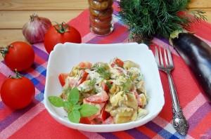 Салат с помидорами и баклажанами - фото шаг 11
