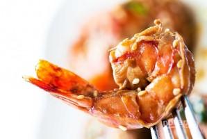Жареные креветки (острые) - фото шаг 6