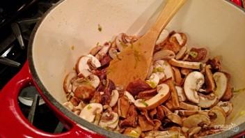 Суп со сливками и грибами - фото шаг 6