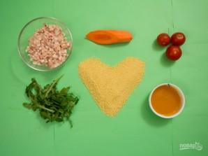 Мясо краба под соусом - фото шаг 1