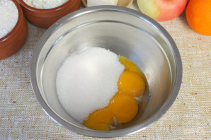 Бисквитное фруктовое пирожное - фото шаг 2