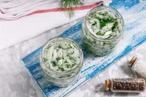 Маринованный лук для салата - фото шаг 4