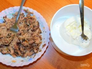 Бутерброды с тунцом и сливочным сыром - фото шаг 2