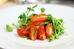 Салат с гребешками - фото шаг 6