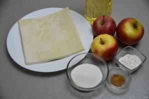 Яблочный пирожок как в Макдональдсе - фото шаг 1