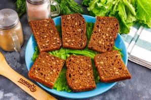 Бутерброды с красной рыбой и киви - фото шаг 2