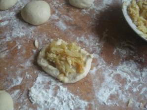 Постные пирожки в духовке - фото шаг 6