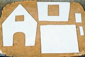 Пряничный домик - фото шаг 8