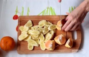 Творожный торт с фруктами в мультиварке - фото шаг 7