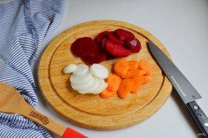 Консервированные помидоры со свеклой - фото шаг 2