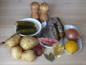 Рыбная солянка - фото шаг 1