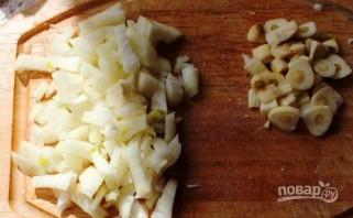 Суп со свининой и сыром - фото шаг 3