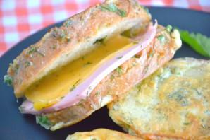 Бутерброды в кляре
