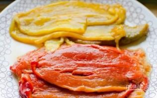 Паста с кремом из болгарского перца - фото шаг 3