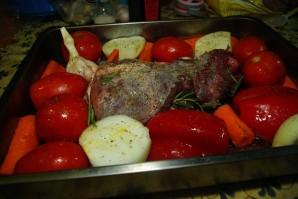 Жаркое из баранины в духовке - фото шаг 4