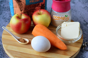 Морковно-яблочное суфле