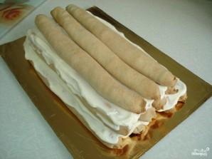 """Торт """"Монастырская изба"""" с вишней - фото шаг 8"""