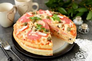 Четырехэтажная пицца