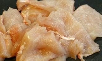 Ромштекс из курицы в духовке - фото шаг 1