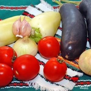 Лечо с баклажанами и помидорами - фото шаг 1