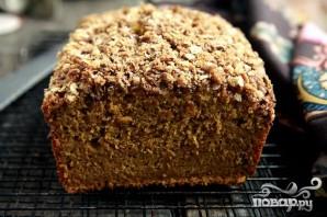 Тыквенный хлеб с посыпкой - фото шаг 6