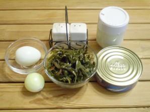 Салат к жареной картошке - фото шаг 1